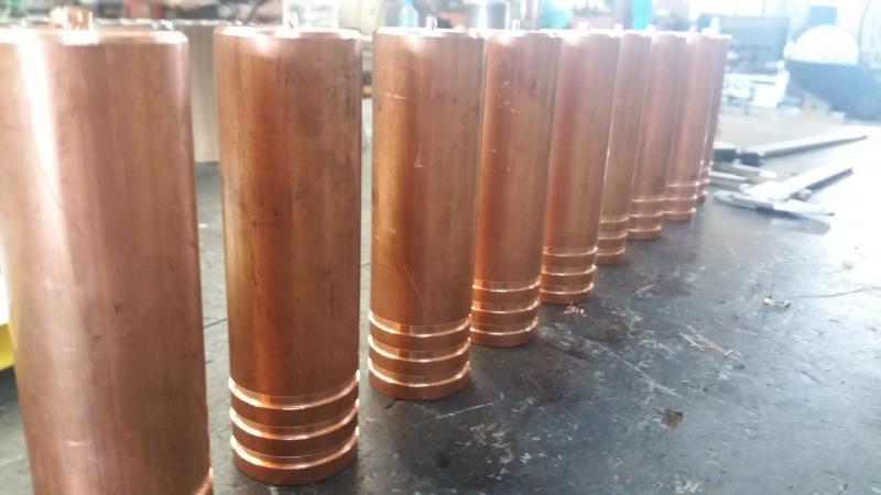 Usinagem em cobre